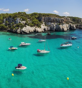 Menorca and its surroundings
